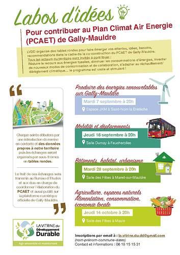 4 labos idées pour contribuer au PCAET Gally-Mauldre